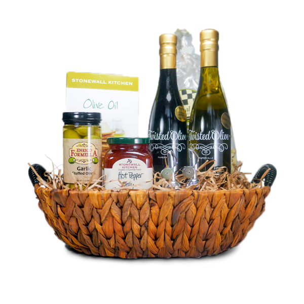 Thanks with a Twist Gourmet Gift Basket